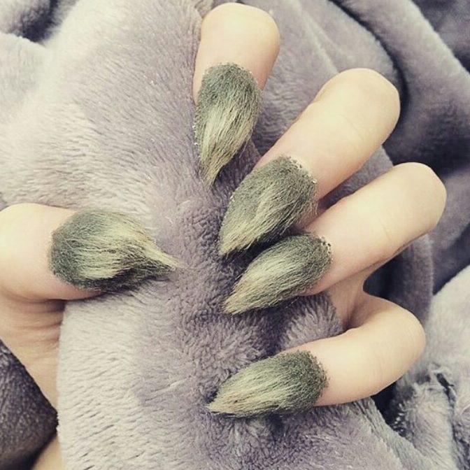 Furry Nail Art