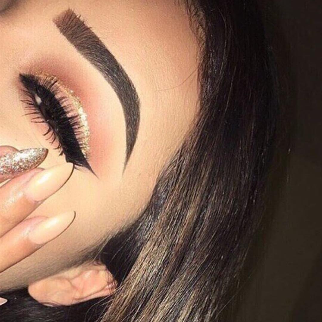 Overdone Eyebrows